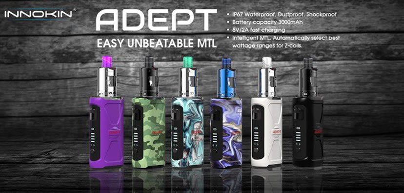 INNOKIN Adept Vape Device from New Age Smoke
