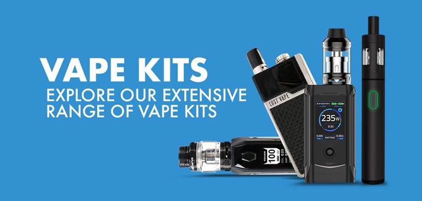 Quality Vape Kits distributor in UK and Ireland. Fully TPD Compliant.