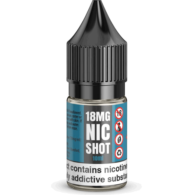 Nic Shot 18mg (Image is guide)